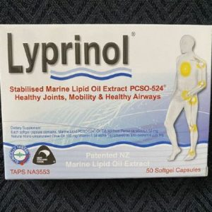 Lyprinol - better than Antinol