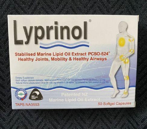 Lyprinol - better than Antinol